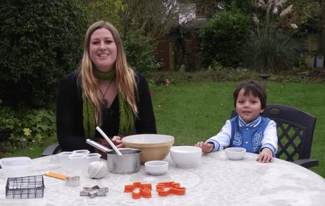 How to make bird seed cake