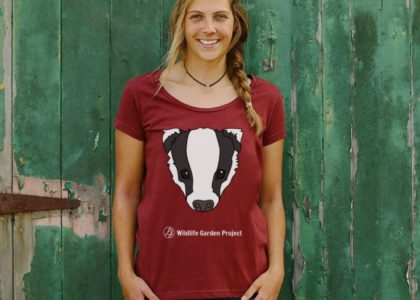 Woman wearing red badger top